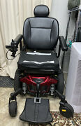 Quantum Edge 2.0 Electric Wheelchair With Charger And Swing Away Electirc Car Lift