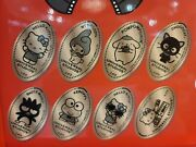 Brand New Universal Studios Hello Kitty Pressed Penny Collection Set Of 8