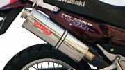 Kawasaki Kle500 Exhaust Stainless Trioval Full System By Gpr Italy 1991/07