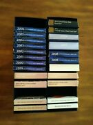 United States Mint 1999-2020 Complete Clad Proof Sets W/ogp And Storage Boxesandnbsp