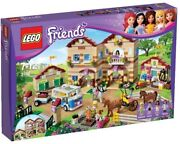 Lego Friends Summer Riding Camp 3185 Retired 100 Complete With Box