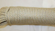 1/4 X 180and039 Sail/halyard Line 3-strand Polyester Control Line Boat Rope New