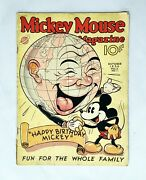 Rare Mickey Mouse Magazine / Comic Book Issue 13 Vol. 2 Issue 1 Oct. 1936