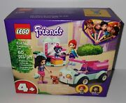 Lego Friends Cat Grooming Car Pet Set 41439 Emma And Mia 2 Minifigs 2 Animals New