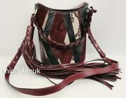 Emilio Pucci Leather Shoulder Bucket Bag Tote Collectorand039s Item Rrp2650gbp