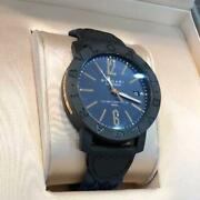 Bvlgari Bb 40 2017 Menand039s Roman Watch With Box Shipped From Japan