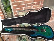 Carvin Dc400 - Dragonburst Overall In Excellent Condition With Carvin Hardcase
