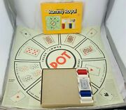 1975 Rummy Royal Game By Whitman Complete In Very Good Condition Free Shipping