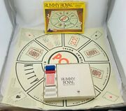 1981 Rummy Royal Game By Whitman Complete In Very Good Condition Free Shipping
