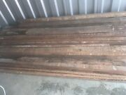 Reclaimed Lumber 2x4 And 3x4 8ft Long More Than 60pcs. Nails Still In Wood.
