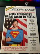 Daily Planet Magazine. Special Superman Ii Movie Edition. 1981 Dc Comics . New