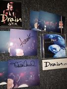Rare Drain S.t.h. Music Autograph Pictures Stickers Cd Concert Swag Auto Signed