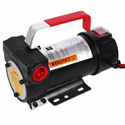 New Electric Diesel Fluid Extractor 12v Auto Oil Transfer Pump With Fuel Nozzle