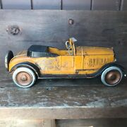 Vintage 1925 Large Open Dayton Pressed Steel Coupe Convertible Museum Quality