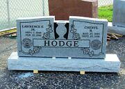 Cemetery Granite Headstone 48 X 6 X 24 Includes Engraving Free Shipping