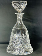 Royal Doulton Fine Lead Crystal Decanter 2.5kg - Thick Wall Highly Refractive