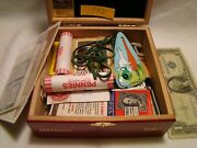 Junk Drawer Box Silver Kennedy Silver Certificate Oshier Necklace Stamps
