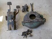 60-63 Chevy Truck Hydraulic Clutch Bellhousing And Hanging Pedal Assembly Oem
