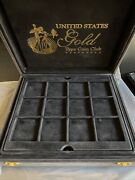 United States Gold Type Coins Presentation Case - Littleton Gold Type Coin Club