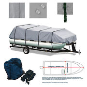 Bentley 220 223 Fish Cruise Trailerable Pontoon Deck Boat Deckboat Storage Cover