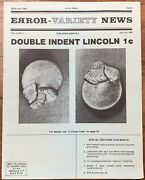 Lincoln One Cent Ngc Ms65rbmint Error Featured In Error Variety News 1981