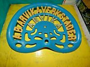 Vintage  Arvika Very Rare Tractor  Implement  Seat Farm Sweden Cast Iron