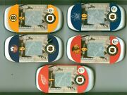Set Of 5 Different 2001 Canada Mint Stamp And Medallion Set Hull Apps Sawchuck
