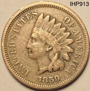 1859 Indian Head Penny Cent