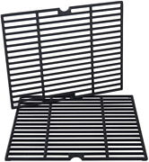 Cast Iron Cooking Grill Grates Grid 2-pack 16 1/5andrdquo For Kenmore 146.10016510 Bbq