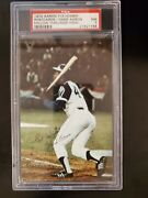 1974 Hank Aaron 715 Homer Postcards Psa 7 Nm Extremely Rare Pop 4 Only 1 Higher