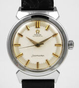 Omega Stainless Steel Seamaster And039bull-hornand039 Unusual Lugs - Original Dial 1957