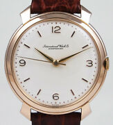 International Watch Company 18k Pink Gold Calibre 89 - White Dial 1969