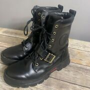 Polo Hayward Men's Size 8.5d Military Boots Combat Tactical Hiking