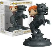 Funko Pop Harry Potter 82 Ron Riding Chess Piece Figure 8 5/16in Movie Hermione
