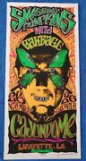 Rare Smashing Pumpkins Poster With Cut-out Eyes - Signed By Mark Arminski