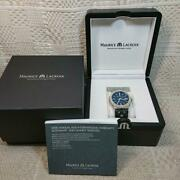 Maurice Lacroix Ax54482 Icon 42 Mm Men's Watch With Box Shipped From Japan