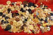 Buttons Sewing Vintage Antique Sets Pairs Crafts Lot 1 Pound Lb Free Shipping