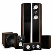 Reference Surround Sound Home Theater 5.1 Speaker System - Walnut