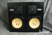 Yamaha Ns-10m Speaker System In Good Condition [japanese Vintage]