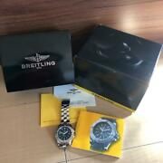 Breitling Colt A17380 Chronometre Automatic Menand039s Analog Watch Japan Shipped