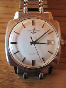 Rare Ulysse Nardin 10915-2 Self Winding Automatic Menand039s Watch Shipped From Japan