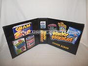 Custom Made Wacky Packages 3 Inch Trading Card Album Binder