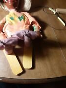 Vintage Mexican Hispanic Marionette String Puppet