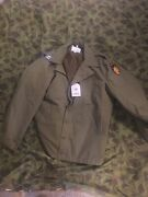 Ww2 Reproduction 13 Th Air Borne Wpg Nwt M41 Jacket Size 46 Xl Captains Bars