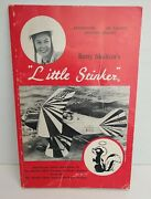 Signed Betty Skelton's Little Stinker Aerobatic Airplane Book 1977 Edition