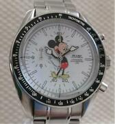 Disney Beams Over The Stripes Mickey Mouse Exclusive Menand039s Analog Watch