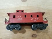 O Lionel Southern Pacific Sp Caboose 6257