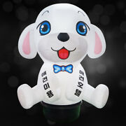 [3d Inflatable Sign] White Dog Inflatable That Your Own Dog Looks For Shop