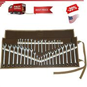 38 Pocket Wrench Roll Up Pouch Tool Organizer Bag Must For Stanley Craftsman