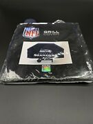 Seattle Seahawks Official Nfl Heavy Duty Barbeque Grill Cover New In Box